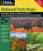 National Geographic TrailSmart CD-ROM / Complete National Parks of the USA