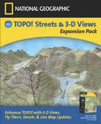 National Geographic Topo! Streets & 3-D Views Expansion Pack