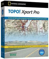 National Geographic Topo! Xport Pro